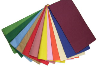 Color 8 fold paper napkins 45 cm 2 ply ☆ 2000 pieces