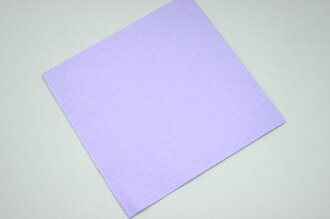 Four color folded napkins [lilac] 24 cm 2000 pictures with ☆☆