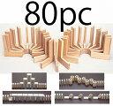 木製 ドミノ80pcs