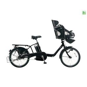 PanasonicBE-ELME03BギュットミニEX16Aピュアマットブラック電動自転車パナソニック子供乗せ20インチ電動アシストサイクル2016年3人乗り対応