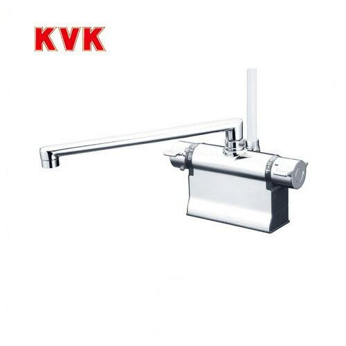 [KF3011TR3]カード決済可能!KVK 浴室水栓 シャワー水栓 サーモスタットシャワー金具 デッキ形(台付き) 300mmパイプ仕様 可変ピッチ式 快適節水シャワー 逆止弁 取付穴径(mm):φ22~φ24 蛇口 【送料無料】 デッキタイプ おしゃれ 最安値挑戦中!浴室水栓 KVK KF3011TR3優れました