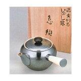 ☆★贈り物にも★☆純錫製の茶器セット!o131-02茶道具 急須 橫手 さざ波 桐箱入