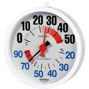エンペックス 防雨温・湿度計 TM-2680 結露予防でダニ・カビシャットアウト!屋外設置も可能な防雨型、通常屋内用としても使えます。温度計...