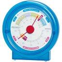 楽天kanaemina温湿度計 エンペックス シュクレ透肌温・湿度計 TM-4726 クリアブルー がんばった肌にうるおいを スキンケアの目安に お肌快適 温度計 湿度計 温湿度計
