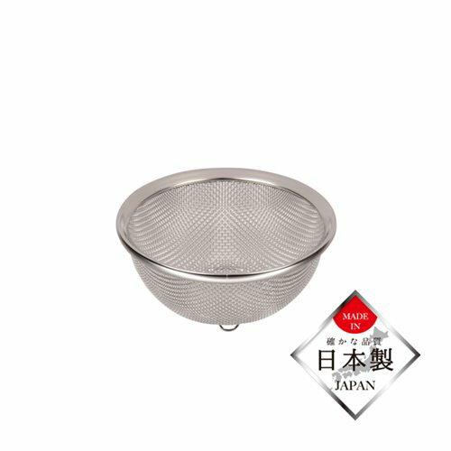 ザルざる笊12cmステンレス製ストレーナー水切り日本製