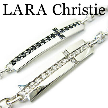 LARA Christie ララクリスティー ロイヤルクロスブレスレット ペア ブレスレット CZ シルバー925 ギフト プレゼント ジュエリー