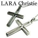 LARA Christie ララクリスティー トゥモロークロスネックレス ペア ネックレス CZ シルバー925 送料無料 ギフト プレゼント ジュエリー