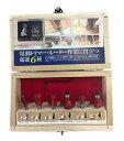 イチネンミツトモ 超硬刃トリマービット 6本組 φ6mm軸 MT30660 30660 トリマビット 30600後継商品 リリーフ RELIFE