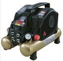 マックス 高圧エアコンプレッサ AK-HH1110E 限定カラー ブラックゴールド タンク容量8L 高圧取出口4個 ブラシレスモータ1100W 発生音パ..