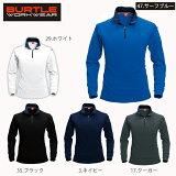 【バートル(BURTLE)】【春夏作業服】長袖ジップシャツ 413