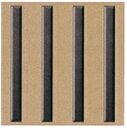 線鋲 グレー 280×27×5 (300角) 線鋲4本付×1枚 JF280-4-17型 ポリアセタール樹脂製