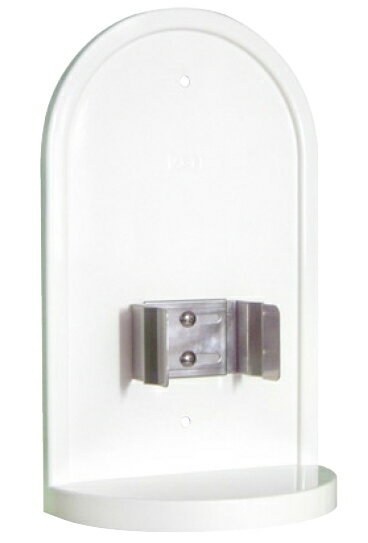 消毒液ボックス(置き台) 壁面 面付け型 × 1台 杉田エース 435-211