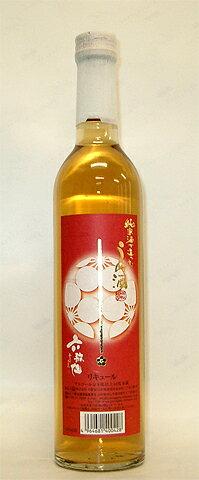 こだわりの純米酒ベース(甘口)!【「純米酒で造った梅酒」500ml】<六歌仙>