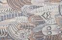 ケイフファセット kaffe fassett feathes 綿 シーチング 生地 カナリヤ 【メール便配送 3mまで】30cm(数量3)以上10cm単位でご注文ください!