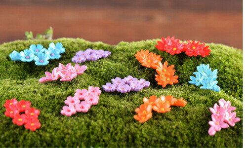 菊の花約318cm形お任せ[小さい/アクセサリーパーツ/スマホケース飾り/テラリウムフィギュア/ハン