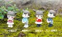 初恋カップル 約2.4*5.2cm 人形 人物 おもちゃ ウェディング 箱庭 ミニフィギュア テラリウムフィギュア ハンドメイド