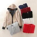 ショッピングOUTDOOR フリースアウター レディース 切り替え 防寒着 アウトドア 裏起毛 コート フリーストップス 長袖 ジャケット アウトドア 上着 ジャケット