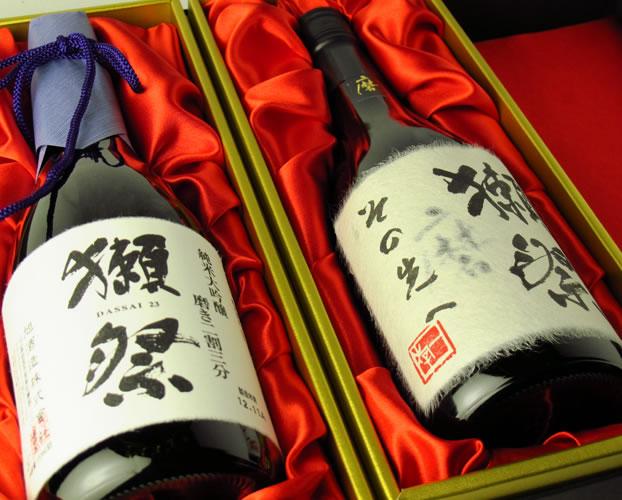 日本酒/山口県 獺祭 だっさい 純米大吟醸 磨き その先へ 720ml×2 セット 送料無料