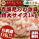 【2個買ってネギトロ】【生食可】送料無料 むきエビ 生食可能!赤海老むき身1kg 海老