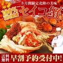 早割 セイコ蟹 100%石川県産 6〜8杯入り セコカニ 早...