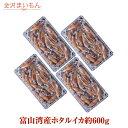 ほたるいか お刺身可 富山湾産 ホタルイカ 約600g(150g×4パック)約72尾 熨斗対応可【ギ