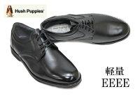 【送料無料】ハッシュパピー106黒4E