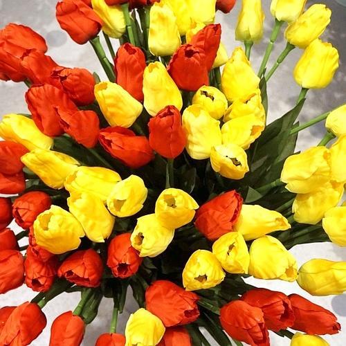 チューリップ造花(アートフラワー)