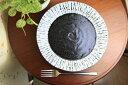 【黒色ゼブラ柄の洋風の食器シリーズ】黒色(ゼブラ)の7.0皿 05P03Dec16