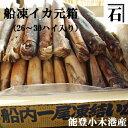 能登小木港産・船凍イカ(元箱26〜30ハイ入)【いか】【スルメイカ】【通販、販売】【