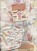 05P09Jul16【5月〜9月】 介護パジャマ 婦人長袖長ズボン綿100%楊柳介護用パジャマtp2173