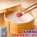 新米 令和元年産 無洗米 秋田県 あきたこまち 5kg 送料無料の地域もございます! お米