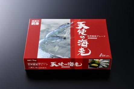 天使の海老1kg(生食用)(30尾〜4002P01Oct16尾)/エビニューカレドニア産】…...:kanekyu-store:10000020