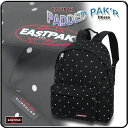 リュックサック イーストパック バックパック ドット柄 デイパック EASTPAK/PADDED PAK'R EK620 05P05Nov16