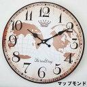 ショッピング掛け時計 【メール便対応可能】モチーフクロック 「Town series」 33cm / 掛時計 EF-CL04MP アンファンス