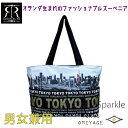 楽天浅草Sparkleフォトプリントバッグ ゴールド/R.R TOKYO 東京