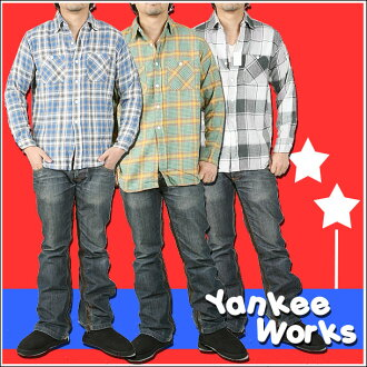 Yankee Works check shirt D660037LC4242