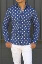 タケシクロサワ takeshy kurosawaメンズ ドットシャツ メンズ 長袖シャツ ブラウス水玉柄 ドット柄 カジュアルシャツ トップス サマー 白82228新品 イタリア製 送料無料