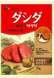 CJ 牛肉ダシダ1kg【日本語版】【韓国食品/韓国食材/調味料/だしだ/牛肉味】