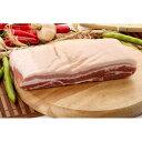 【キャンプ&BBQ】【豚肉】【輸入産】『量り売り』皮付豚バラブロック1kg