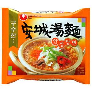 【韓国食品/韓国食材/韓国麺/ラーメン】農心 アンソン(安城)湯麺125g 1BOX(40…...:kangtong-market:10001034