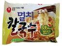 【韓国食品・ラーメン】 農心 ミョルチカルクッス 98g