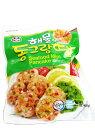【韓国食品】ASSI ミニチヂミドングランテン400g 〔クール便〕