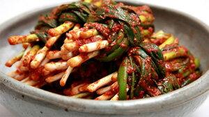 ◆冷蔵◆自家製ネギキムチ300g■韓国食品■韓国/韓国料理/韓国食材/韓国キムチ/キムチ/…...:kangurume:10001078