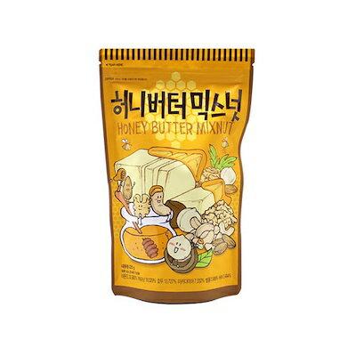 ハニーバターミックスナッツ(大)220g■韓国食品■/韓国お菓子