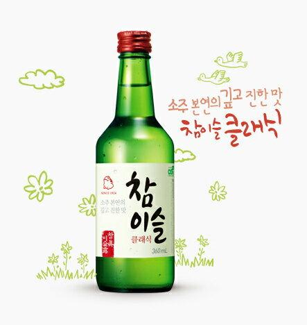 Chamisul soju 360 ml ■ Korea food ■ Korea food material / Korea cuisine / Korea souvenir and liquor / sake / shochu / Korea liquor Korea alcohol Korea shochu /JINRO / m. dew and Jinro / cheap