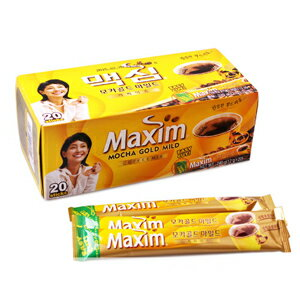 Maxim coffee mix gold 20 bottles ■ Korea food ■ Korea cuisine and Korea food materials / coffee / Korea drinks / soft drinks / souvenir / / Korea souvenir gifts and Midyear / gift / presents / you gift
