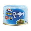 ツブ貝缶詰「小」140g ■ 韓国食品 ■ 韓国料理 / 韓国食材 / 加工食品 / 缶詰 / 自然産ツブ貝 / 缶詰ツブ貝 / ゴルベンイ / 即席食品 / 激安【YDKG-s】