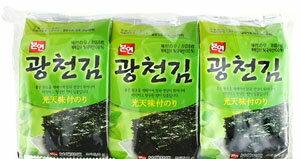 グァンチョン海苔「8枚x3個」【1袋】