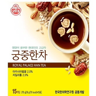 "Imperial Court Han tea """"■ Korea food ■ Korean food / Korea food / tea / Korea tea / tradition tea / health tea / powder / souvenir / Korea souvenir / year-end present / midyear gift / gift / present / present / Korai carrot containing 15 bags&"