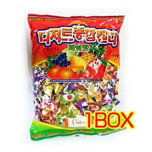 Fruit candy 1100 g x 6 ■ Korea food ■ smell of fresh fruit spread in the mouth. Korea traditional desserts and Korea, sweets / candy / candy / cheap / Halloween /